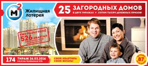 русское лото 1119 тираж джекпот