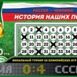Русская лотерея 6 из 36 тираж 49 проверить билет за 6 августа 2016
